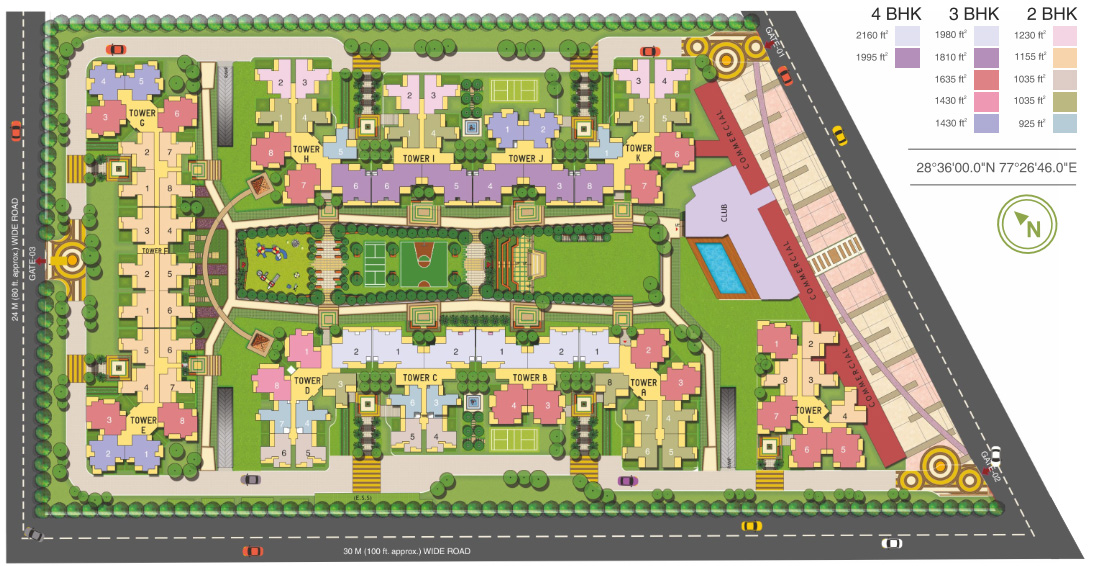 Fusion Homes Site Plan